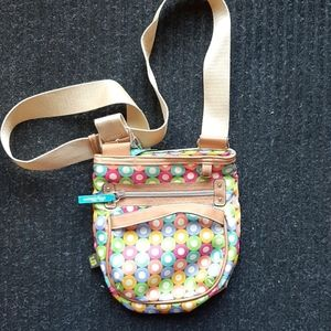 Lilly Bloom Crossbody Bag w/ matching Wallet